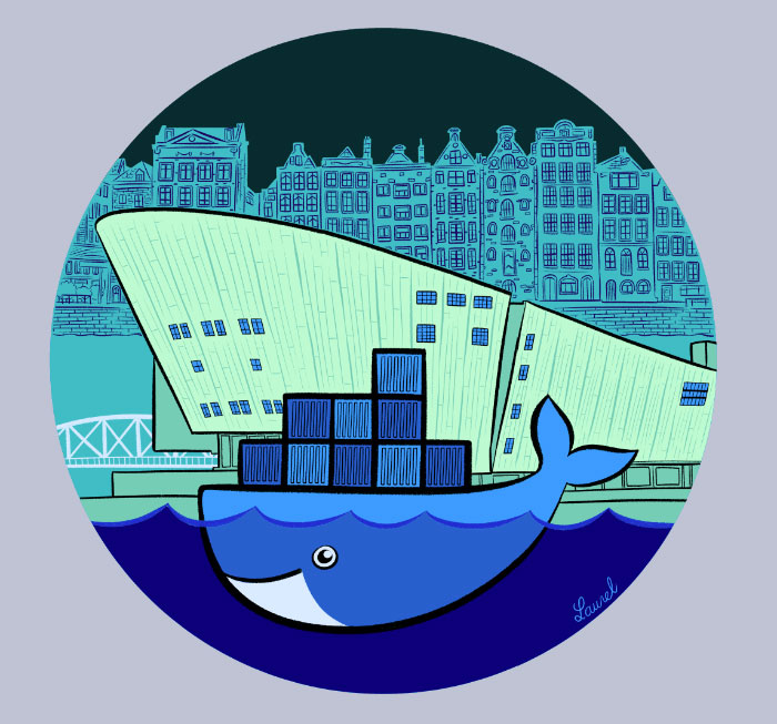 Docker (DockerCon Amsterdam) by Bloglaurel (Laurel).