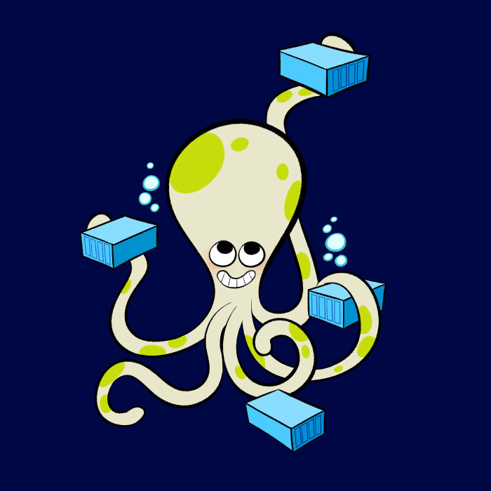 octopus Docker bloglaurel Compose