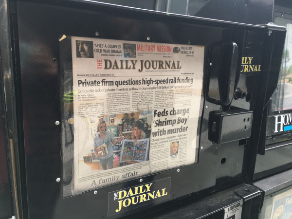 The Daily journal San Mateo Burlingame Peninsula California San Francisco