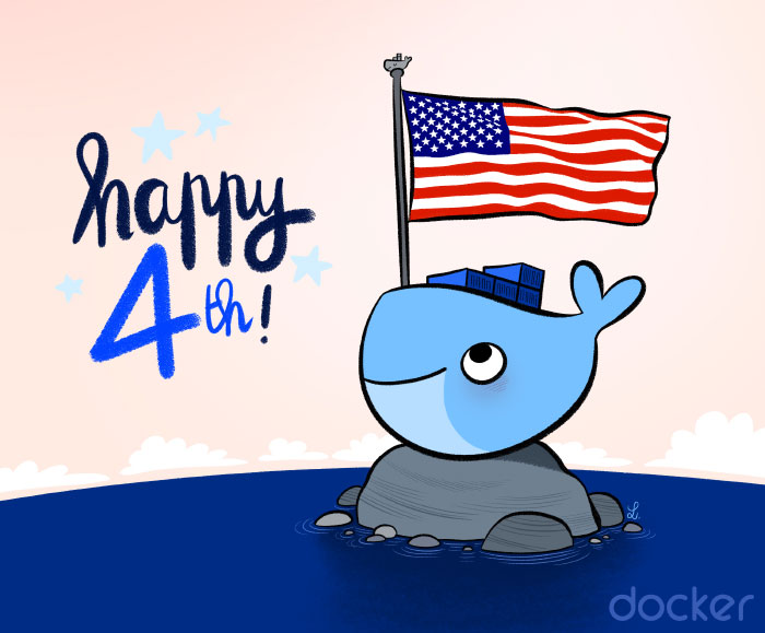 Happy Independence Day Docker !