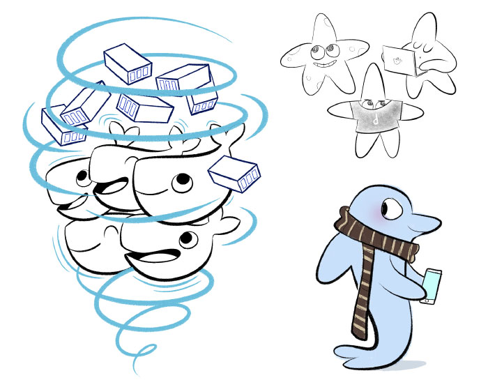 Docker par bloglaurel Laurel Duermael Dessins