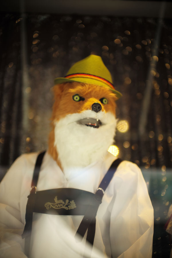 Costume Party - San Francisco - by Laurel Duermael - Castro - fox costume