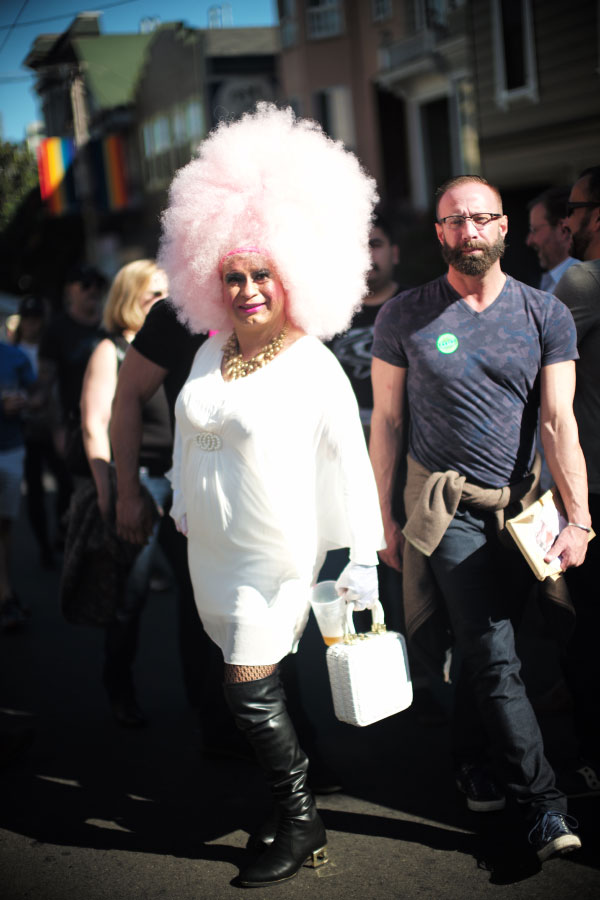 The costume party at Castro, San Francisco, 2016 - pictures by Laurel Duermael