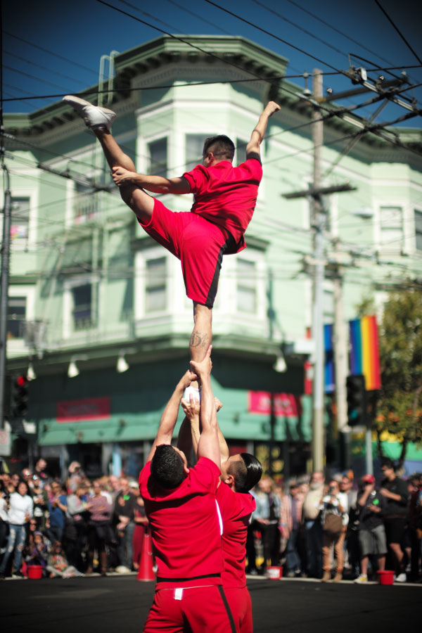 Costume Party - San Francisco - by Laurel Duermael - Castro - Gymnastes