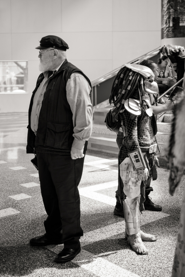 La Silicon valley comicon - pictures by Laurel Duermael - George R Martin