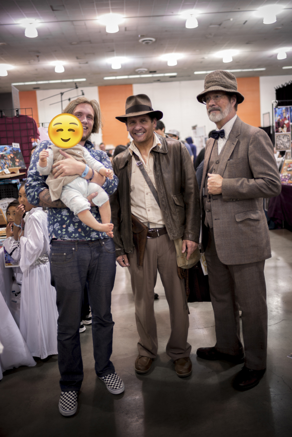 La Silicon valley comicon - pictures by Laurel Duermael - Indiana Jones